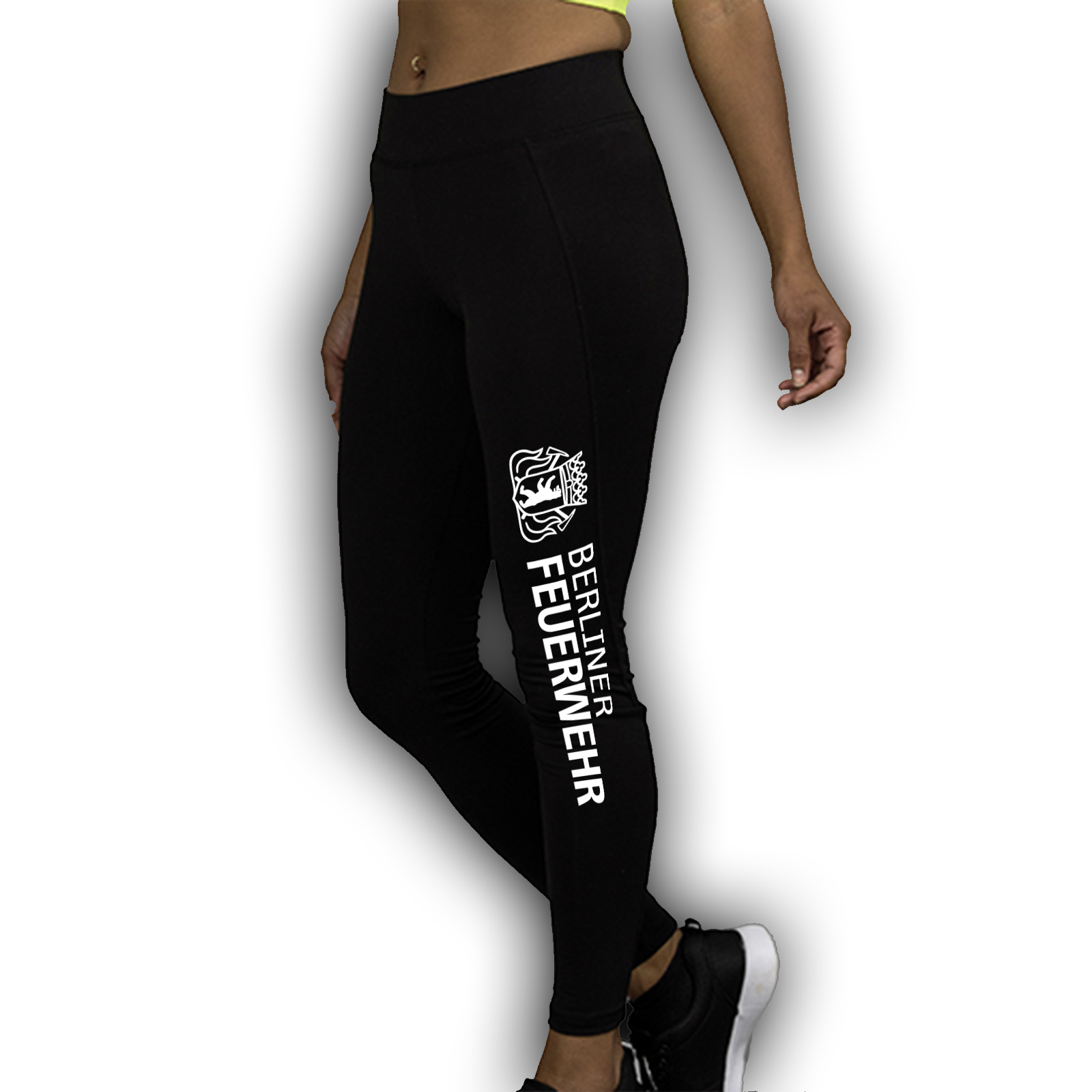 damen sport leggings lang bf hauptstadtfeuerwehr. Black Bedroom Furniture Sets. Home Design Ideas