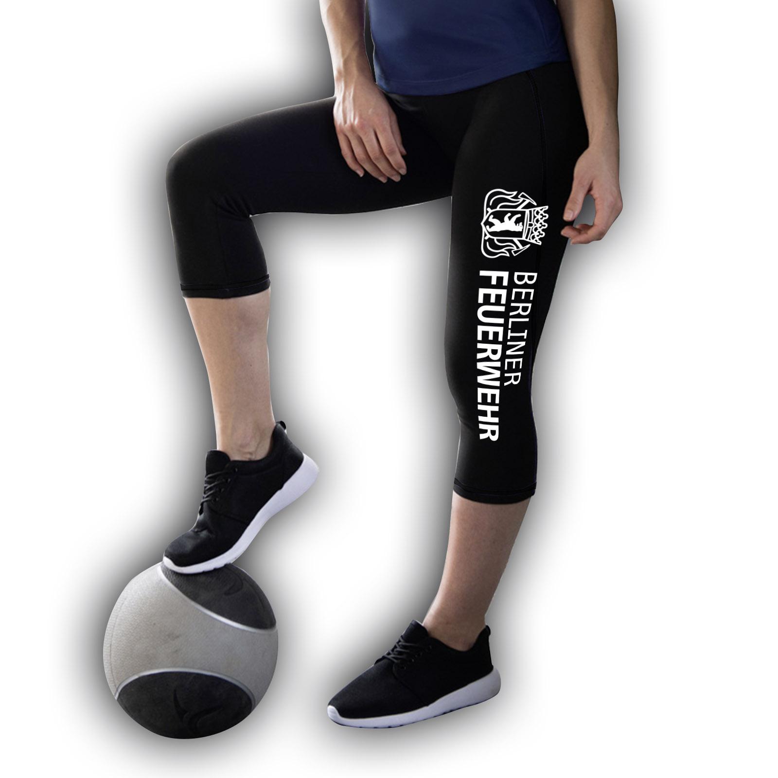 damen sport leggings 3 4 bf hauptstadtfeuerwehr. Black Bedroom Furniture Sets. Home Design Ideas
